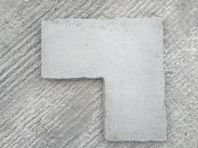 BUFF/GREY CORNER FLAGS 600X600 X 22NO